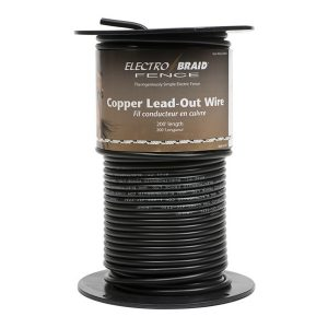 ElectroBraid® High Voltage Insulated Copper Lead Out Wire 200ft