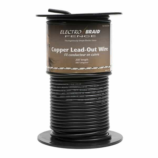 Electrobraid High Voltage Lead Out Wire