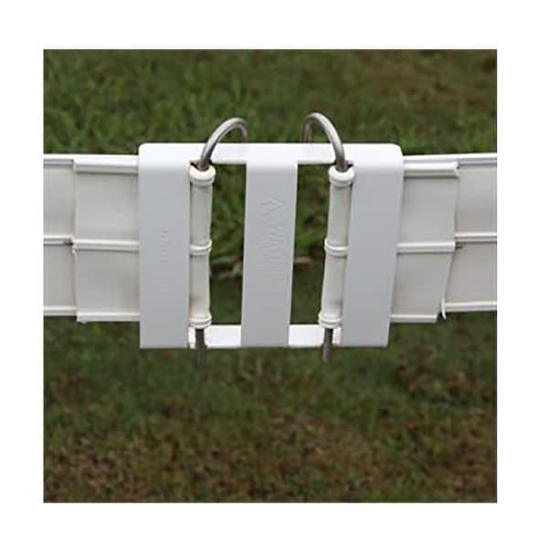White Splice Buckle