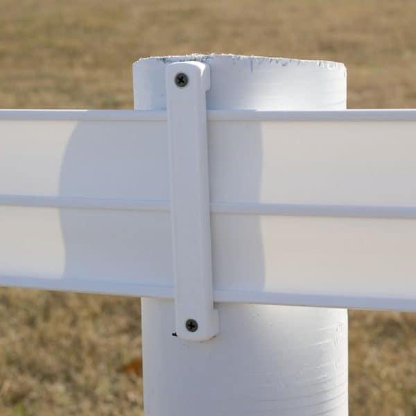 Bracket on Pole