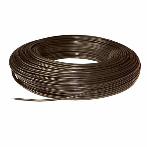 PolyPlus Coated Wire Brown