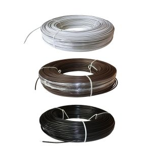 White Lightning Fence Wire