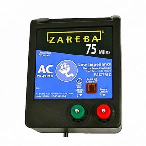 Zareba® 75 Mile AC Low Impedance Charger